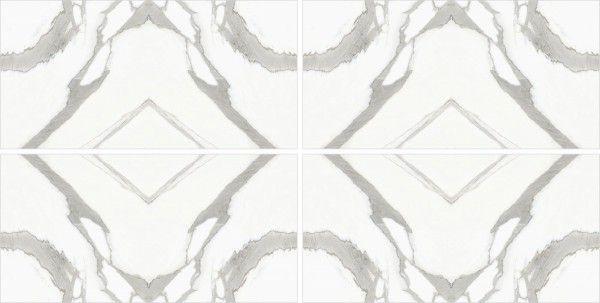 - 600 x 1200 mm ( 24 x 48 inch ) - Statuario infinity  AB