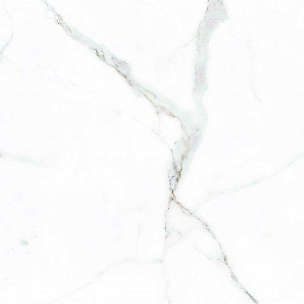 Ceramic Floor Tiles - 600 x 600 mm ( 24 x 24 inch ) - WHITE SATVARIO-B