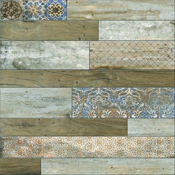 Ceramic Floor Tiles - 600 x 600 mm ( 24 x 24 inch ) - DECORA STRIP 1