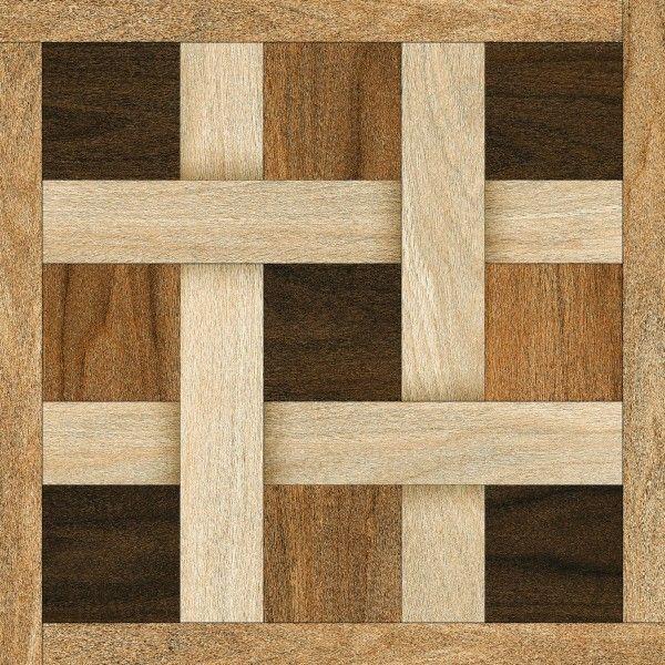 Ceramic Floor Tiles - 600 x 600 mm ( 24 x 24 inch ) - KASHMIRI WENGE -------------