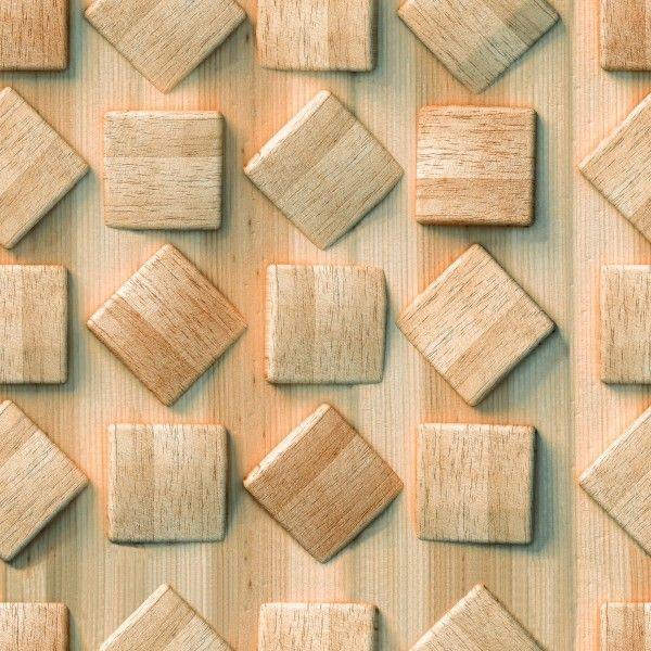 3D Tiles - Any Size - LUMBER -------------