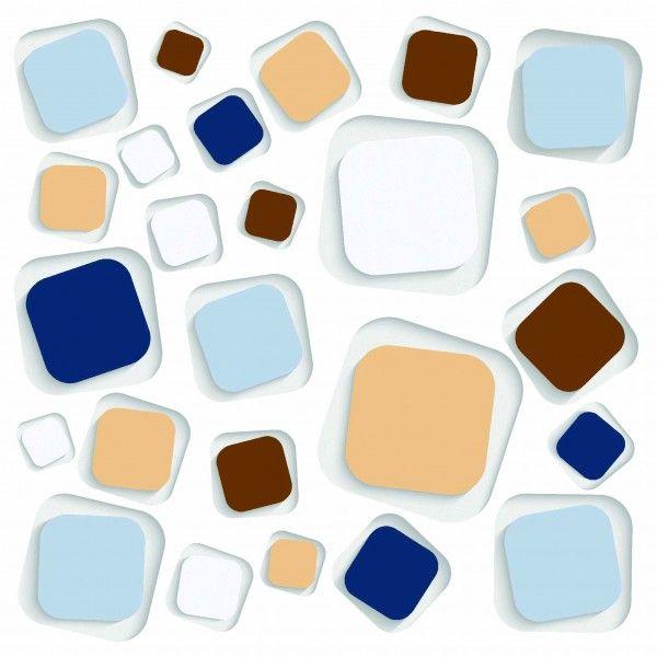 3D Tiles - Any Size - MULTI SQUARE