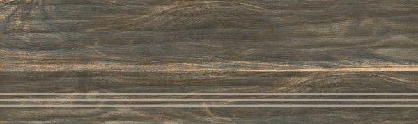 Step and Riser / Strips - 300 x 1200 mm ( 12 x 48 inch ) - Step BLACK WOOD A2_01