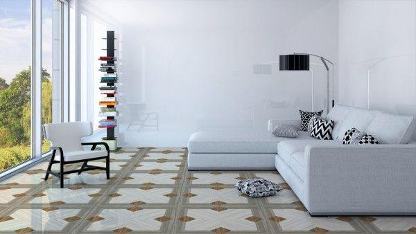 Ceramic Floor Tiles - 600 x 600 mm ( 24 x 24 inch ) - 6025_v