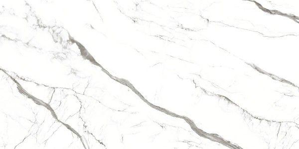 Porcelain Slab - 800 x 1600 mm ( 32 x 64 inch ) - STATUARIO blanco